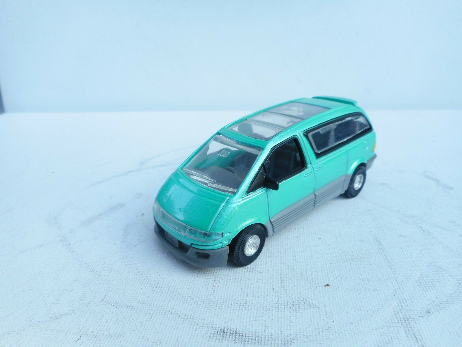 Tins Toys Toyota Previa In Metallic green Near mint RARE Vintage