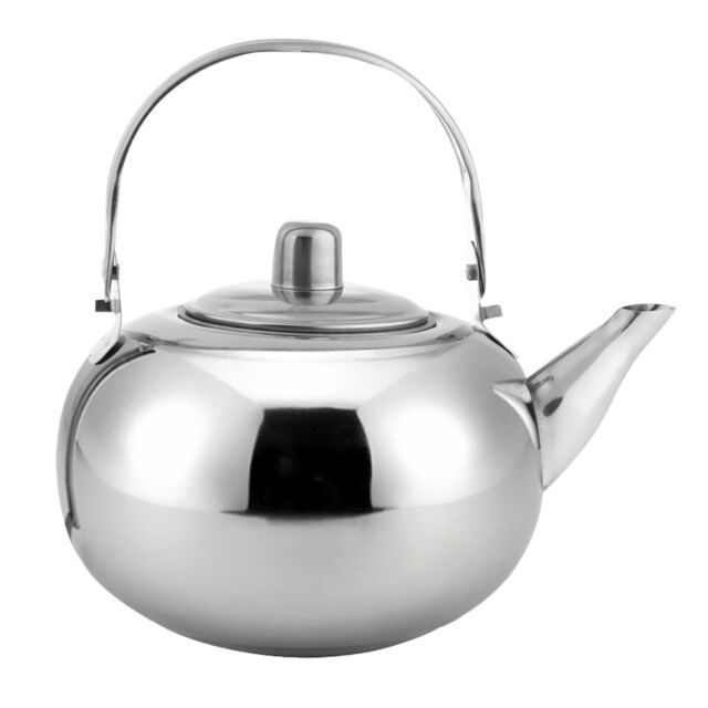 Msr Alpine Teapot Lightweight Backpacking Kettle 1l Silver For Sale Online Ebay