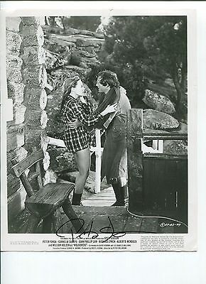 Peter Fonda Easy Rider Ghost Rider Oscar Nom Open Season Signed Autograph Photo