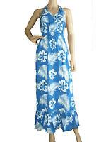 New Ladies PRIMARK Floral Print Halter Neck Maxi Dress Size S M L
