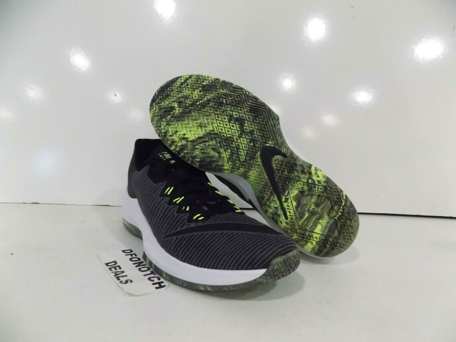 d777af4ae06 Nike Air Max Infuriate 2 Low Men's Basketball shoes Sz 11 Grey Volt 908975  007 ncfary3652-Athletic Shoes