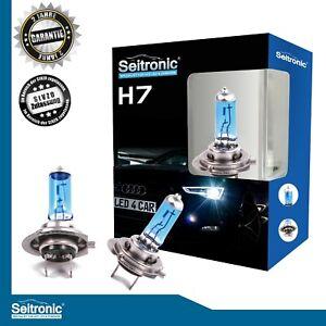 Seitronic-2er-set-h7-55w-Xenon-Style-Look-HID-blanco-halogen-peras-auto-lampara