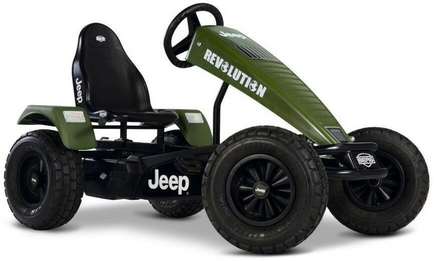 Berg Jeep Revolution BFR Off-Road Kids Pedal Car  Go Kart 5+ Years NEW  more affordable