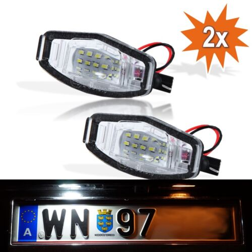 LED Kennzeichenbeleuchtung Module Honda Civic MK7 MK8 Legend Accord Acura K02