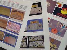 Marx TOM CORBETT REX MARS PLANET PATROL SPACE PORT + playset guide