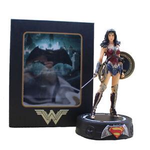 Batman-V-Superman-Wonder-Woman-Statue-With-Light-PVC-Action-Figures-Model-Toy