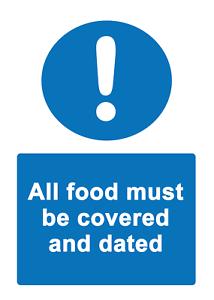 2 X-tous Les Aliments... Info Sign Autocollante (amovible) Vinyle Imperméable Autocollant-afficher Le Titre D'origine Kqdbeyws-07235723-771877916