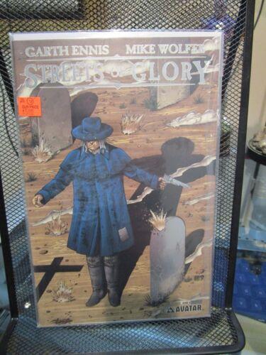 Streets of Glory #6 Platinum Foil Variant Cover Avatar Press Garth Ennis 9.4