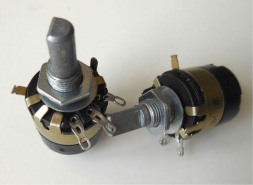 5pcs B47K Ω Ohm 47K Linear Potentiometer ON//OFF Switch WH137-2 RV137-2