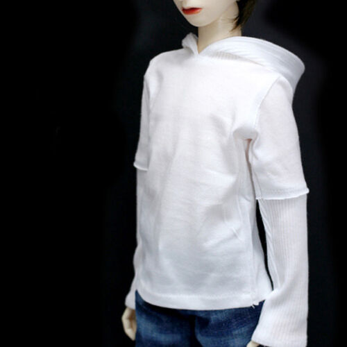 Dollmore  1/3 BJD 22 doll clothes SD SIZE  - Parisienne Hood T Shirt(White)