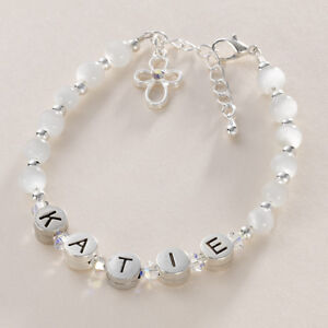 asp c bracelet for christening girls any engraving p jewels baptism ekm bracelets