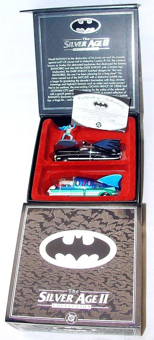 grandes ofertas Corgi FAO negro 1 43 DC Comics Batman Batmobile Batmobile Batmobile Edad de Plata 2 Coche Conjunto Menta en caja Rare   online barato