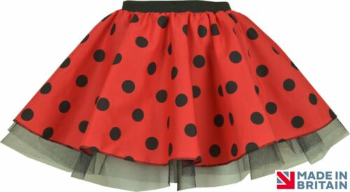 Girls WORLD BOOK DAY BUMBLE BEE LADYBIRD TUTU SKIRT FANCY DRESS COSTUME WINGS