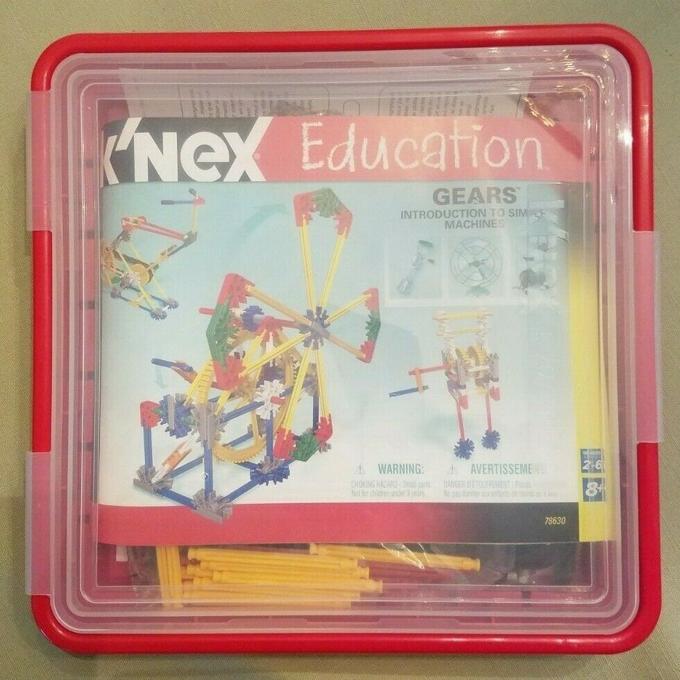 K'Nex Education Gears - IItem NEW in Box (no wrapper)