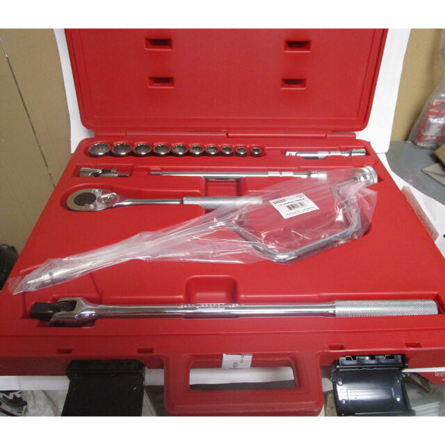 "Blackhawk Proto 1//2/"" Drive SAE 7//16/"" Shallow 12-point Chrome Socket wrench NEW"