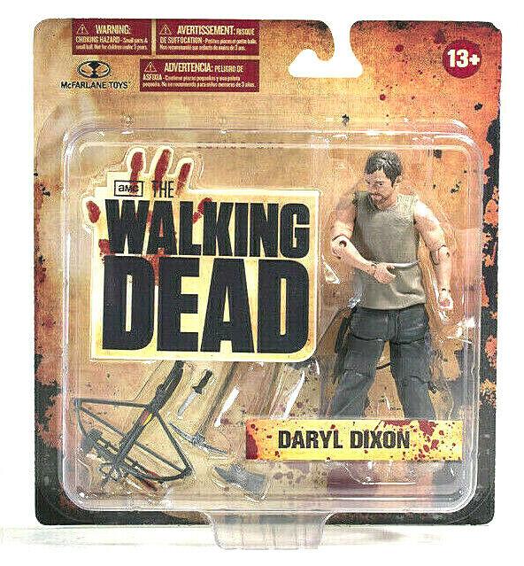 Walking Dead DARYL DIXON figura PVC 13cm McFarlane