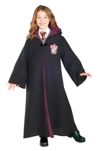 Rubies Harry Potter Deluxe Gryffindor Robe Girls Child Halloween Costume 884259