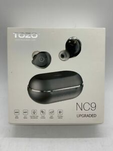 TOZO NC9 Black Hybrid Active Noise Cancelling Wireless ANC In Ear Earbuds