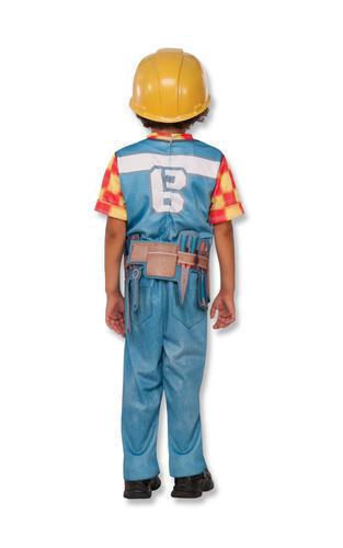 Bob the Builder Garçons Robe Fantaisie Livre jour personnage de dessin animé enfant Kids Costume