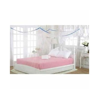 Shahji Creation king size Bed Multicolor 7x7 Feet Mosquito Net