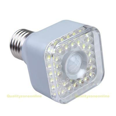 E27 5W IR Infrared Motion Sensor Automatic 39 LED Lamp Light Bulb 220V-240V