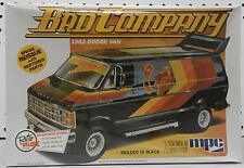 DODGE DISCO VAN CUSTOM 1982 BAD BOYS BLACK CO COMPANY MOPAR RAM 82 MPC MODEL KIT
