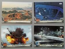 2017 Star Wars Rogue One - GRAY SQUADRON PARALLEL - #79 X-Wings Attack - #95/100