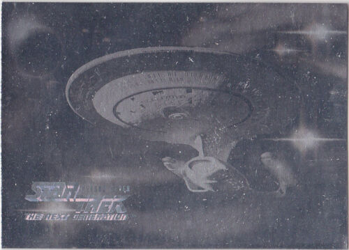 STAR TREK THE NEXT GENERATION SEASON 7 H14 HOLOGRAM ENTERPRISE 1701D