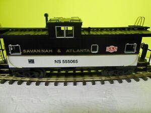 MTH-SAVANTA-amp-ATLANTA-555065-NORFOLK-amp-SOUTHERN-HERITAGE-SERIES-CABOOSE