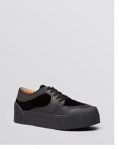 Marc By Marc Jacobs Black Platform Creeper Sneakers Women's 7 M US/ 37 EURO