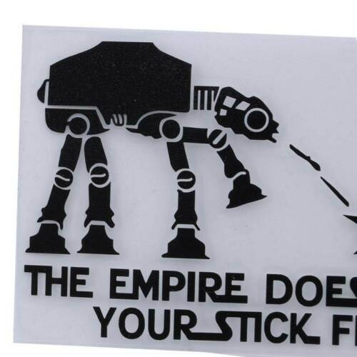 The Empire Doesn/'t Care About Your Stick Figure Family Sticker Decal Car Decor S