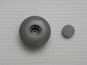 Stopfen mit Abdeckkappe für Knaus Bug und Seitenblenden 12 mm lang K246214
