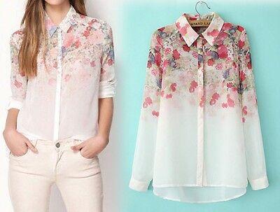 Fashion Summer Women Shirt Tank Loose Vest Long Sleeve T-Shirt Casual Top Blouse