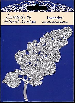 TATTERED LACE Cutting Die - LAVENDER - Lilac