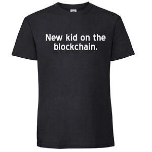 New-kid-on-the-blockchain-T-Shirt-XRP-BTC-LTC-ETH-EOS-ADA-XLM-TRX-Crypto-Block