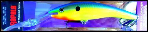Parrot color LARGEST RAPALA DEEP TAIL DANCER TDD 13 cm 42 grams PRT