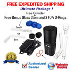 2017 ARIZER SOLO   ULTIMATE PACKAGE   FREE GLASS + FREE GRINDER