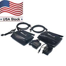 5.8GHz Wireless Transmitter Receiver Audio Video PAT-580 300M HDMI f/ TV Box US
