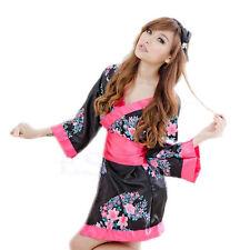 Kimono -UK Seller- Womens Sexy Japanese Yukata Cosplay babydoll chemise Costume