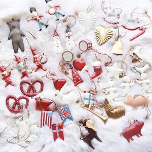 Christmas-Tree-Hanging-Angel-Bear-Santa-Bells-Decor-Xmas-Party-Wedding-Ornament