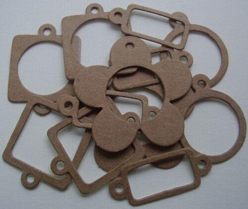 12 Pieces 2 each Design Chipboard Die Cuts ACCENT CHARM /& BOOKPLATE