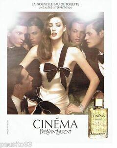 Sur Yves Détails Laurent Cinéma 116 Femme Advertising 2006 Saint Parfum Publicite nmN8wvO0y