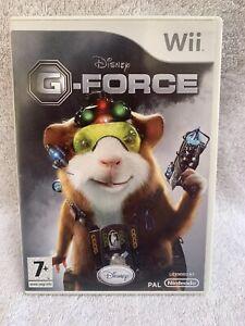 Disney G-Force Nintendo Wii PAL (probados) Con Manual Gratis P + P