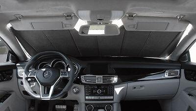 CoverCraft Silver Sunscreen Folding Sun Shade Custom Fit Heat Shield UV10811SV