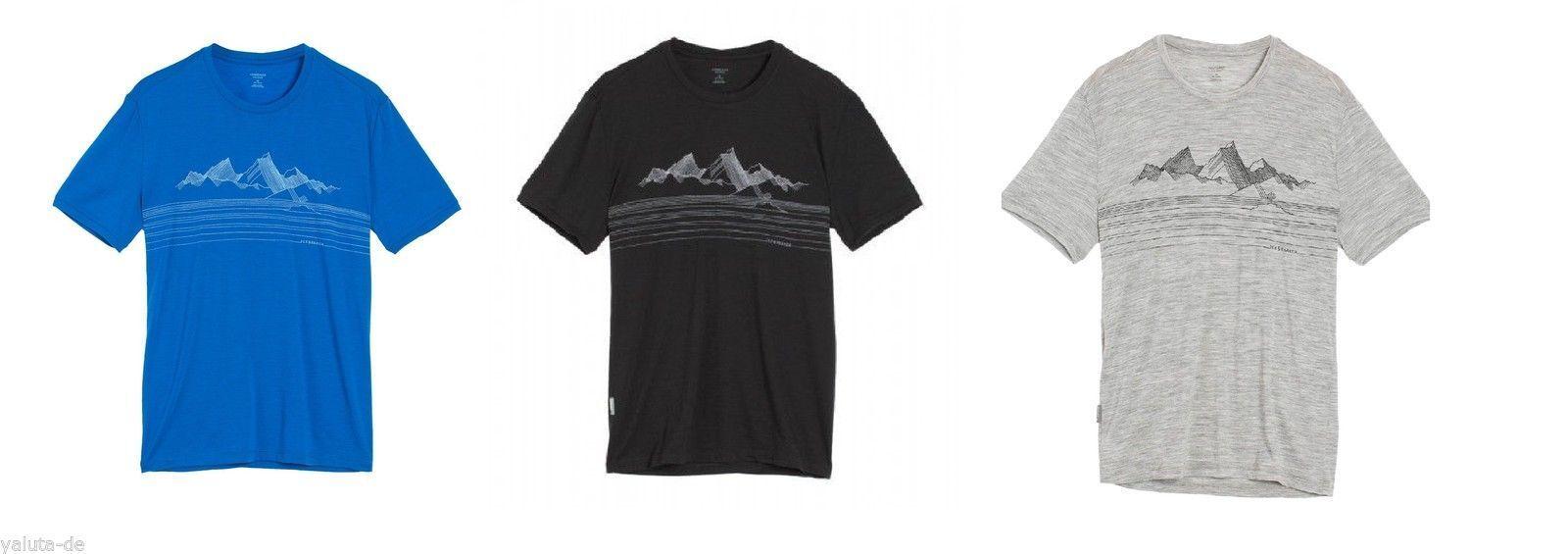Icebreaker Herren Shirt Appro Merino Merino Merino Wolle kühlt, leicht, angenehm, riecht nicht 176a3a