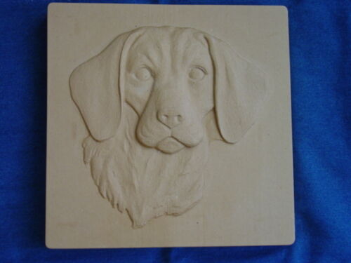 BEAGLE DOG CONCRETE CEMENT PLASTER STEPPING STONE MOLD 1252 Moldcreations
