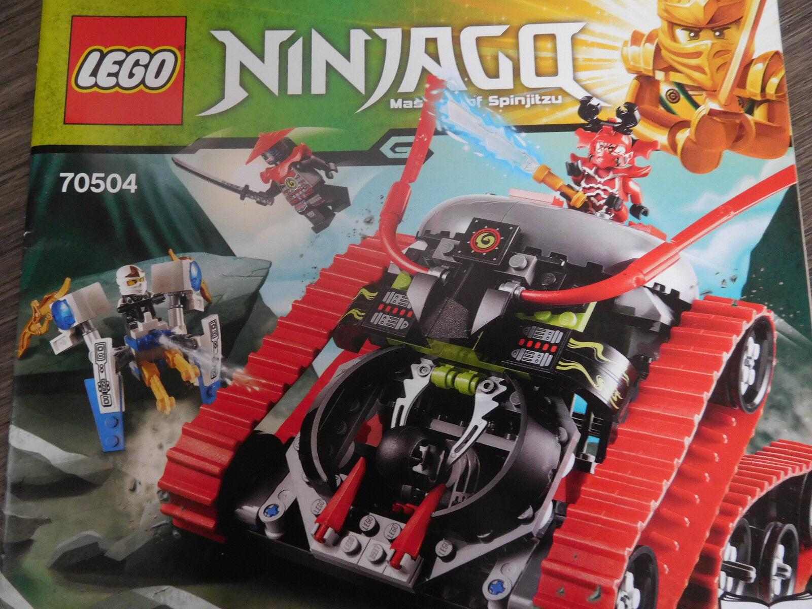LEGO Ninjago 70504 Garmatron Eisspinne Zane General Kozu Samurai