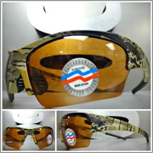 23e2c85672a Image is loading Sporty-Hunting-Fishing-Camouflage-Camo-SUN-GLASSES-High-