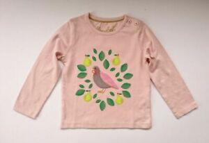 Crop top  Winter bird with handmade applique