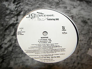 19th-Street-w-Daz-Bustaz-Rap-Killer-12-034-Single-NM-Noo-Trybe-SPRO-12751-PROMO